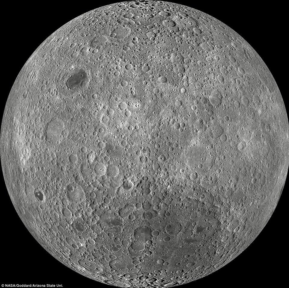 最清晰的月球背面图问世
