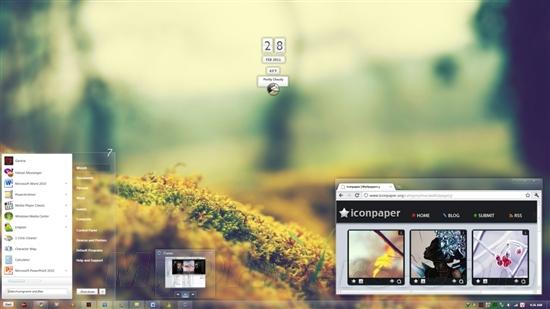打造一个清新雅致的Windows 7