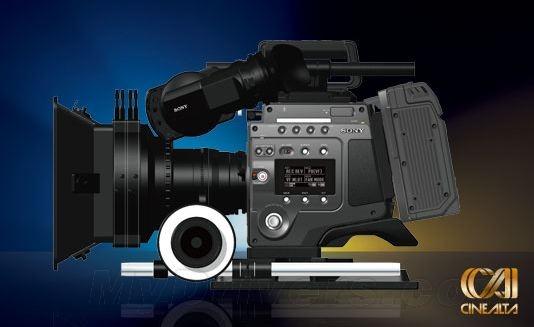 8K分辨率 索尼发布怪兽级数字电影机F65