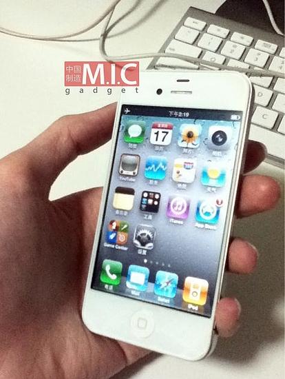 """窄边框大屏""""iPhone 4S""""照片曝光"""