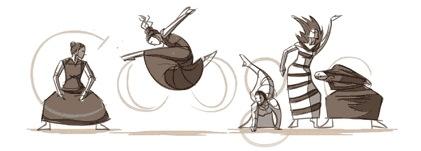 Google奉上首个CSS动画涂鸦