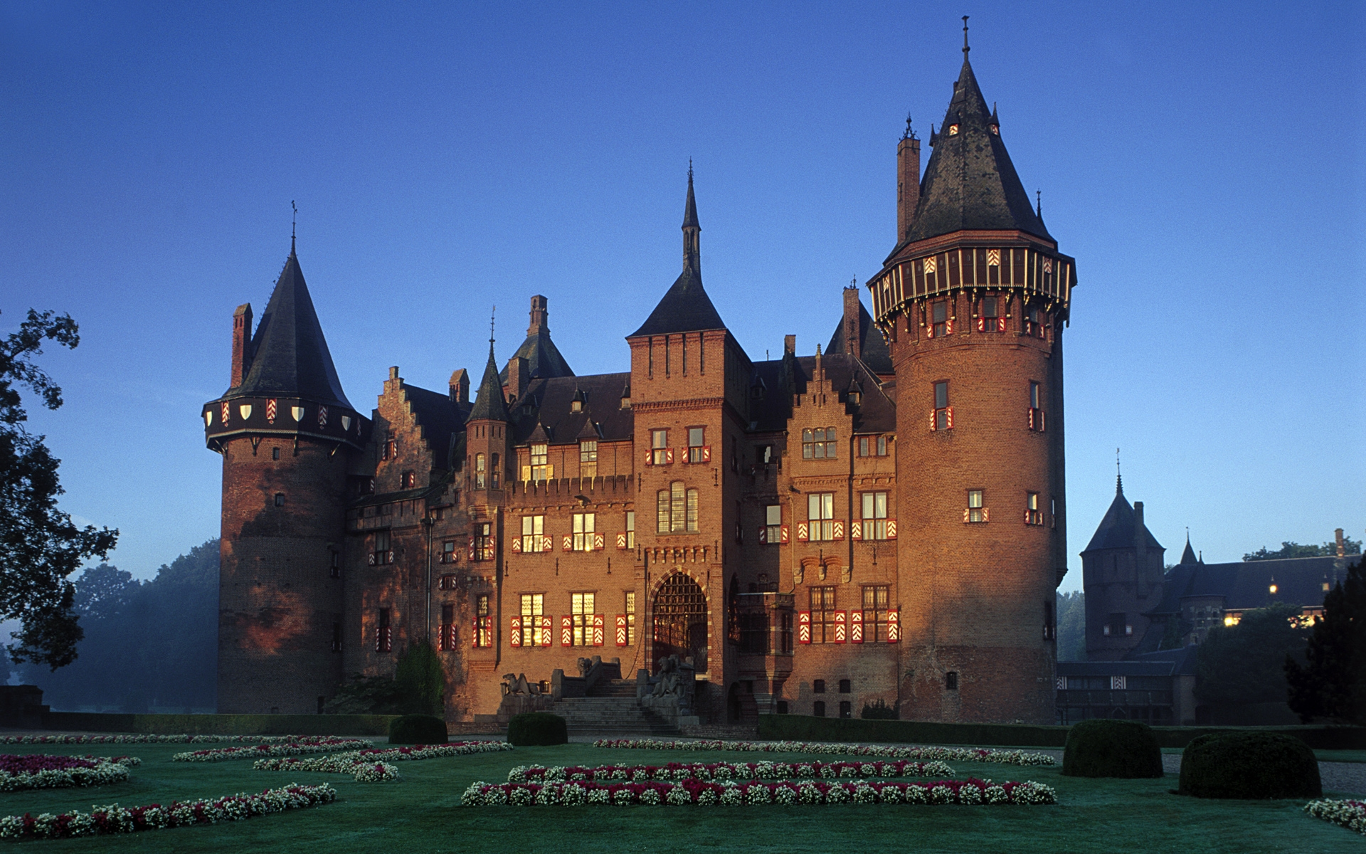 windows 7主题复古风:带你领略欧洲城堡