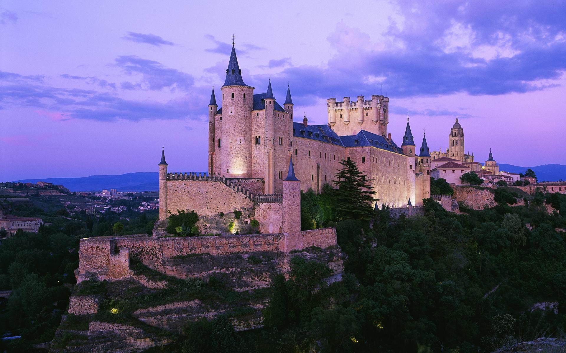 题复古风 欧洲城堡 Windows 主题屋