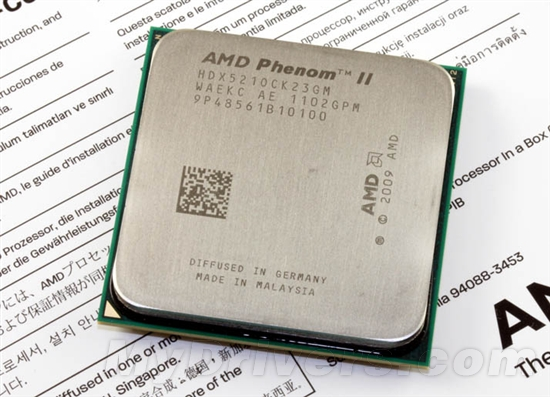 Phenom II X2 521:马甲处理器再现