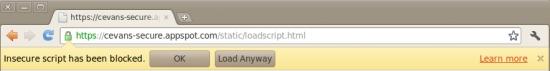 Chrome出绝招阻断混合脚本漏洞