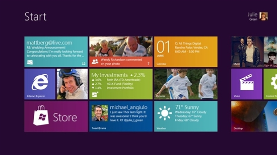 Windows 8 Build 8030首張截圖曝光