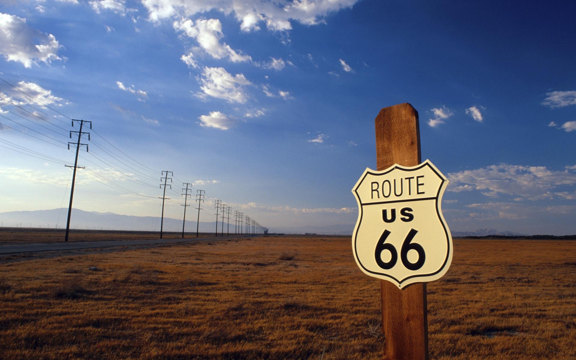 美国66号公路壁纸