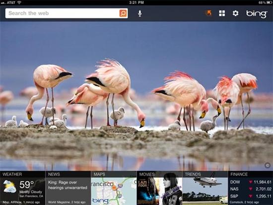 Bing for iPad新版发布 新增圈词搜索