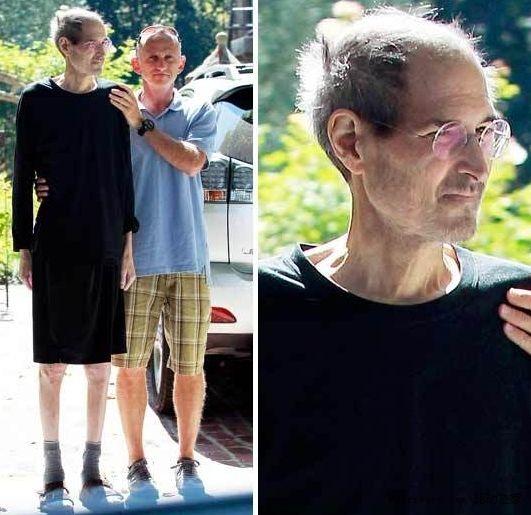 乔布斯退休后照片曝光:形销骨立令人担忧