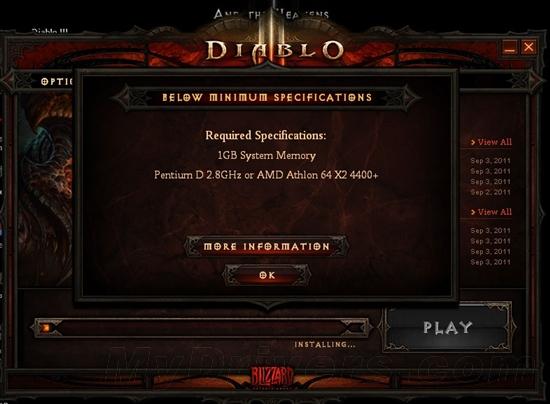 《暗黑破壞神3》支持、不支持顯卡一覽