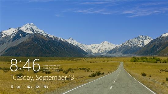 官方高清圖賞:Windows 8開發者預覽版