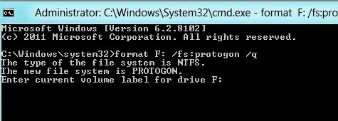 Windows 8隐藏的大秘密:新文件系统Protogon
