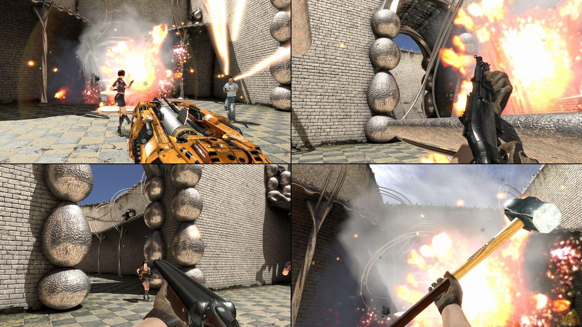 В сети появились новые скриншоты Serious Sam 3.