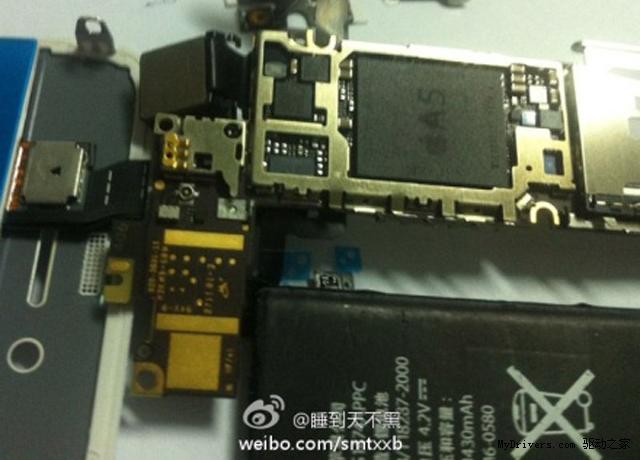 新闻中心 手机平板 苹果手机 > iphone 5拆解图泄露 真的还是假的?