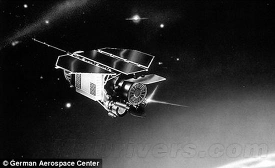 德国卫星可能本周末撞地球