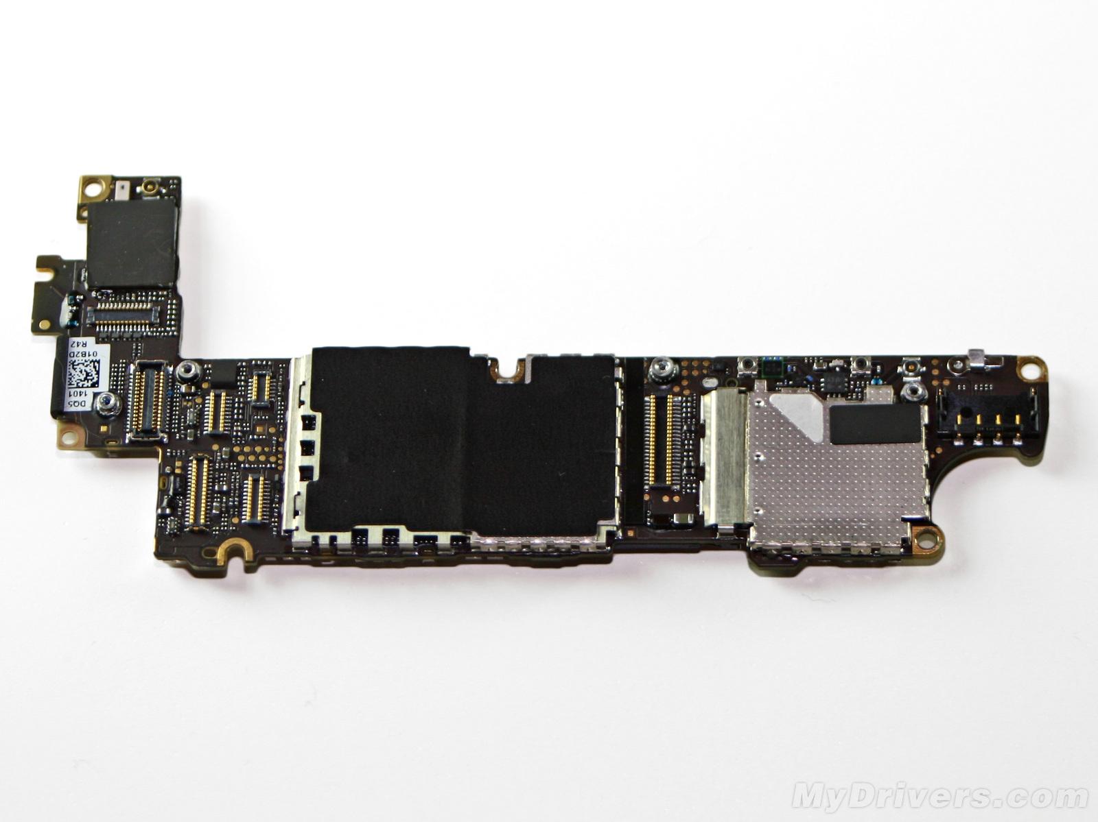 iphone手机电路板