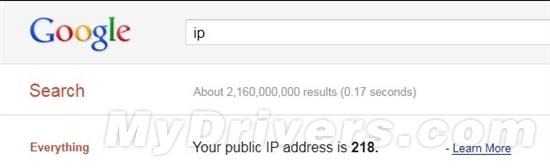 Google也能查IP地址了
