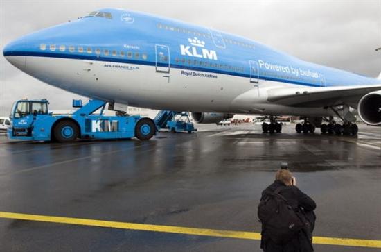 将启用以生物煤油为燃料的客机执飞阿姆斯特丹到巴黎的航班