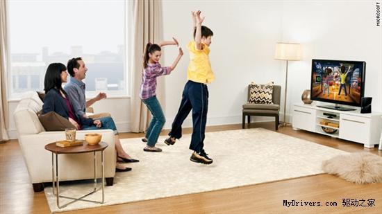 传微软与索尼等合作将Kinect整合到电视机