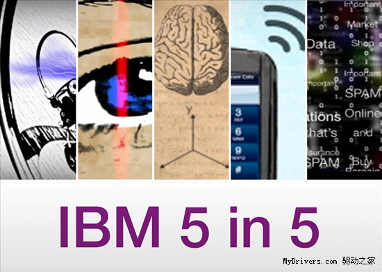 IBM年度五大創新:五年內改變世界!