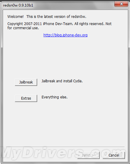 寫給新手iOS 5.0.1完美越獄教程