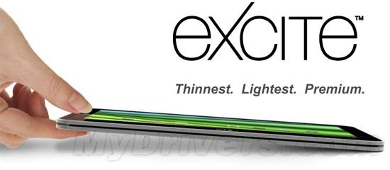 东芝全球最薄平板Excite X10露真容