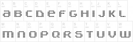 9款你会用得着的像素字体