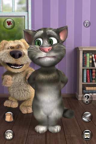 会说话的汤姆猫》下载量1亿次-会说话的汤姆猫,下载