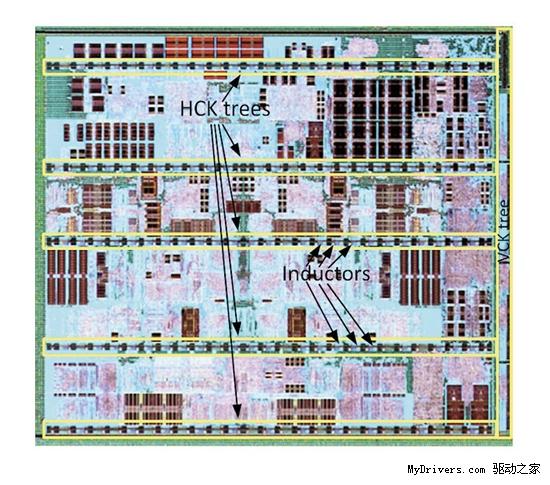 打桩机内核照片首次公开 默频超4GHz