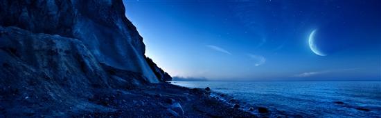 Windows 8首款官方主题:黄昏与星光