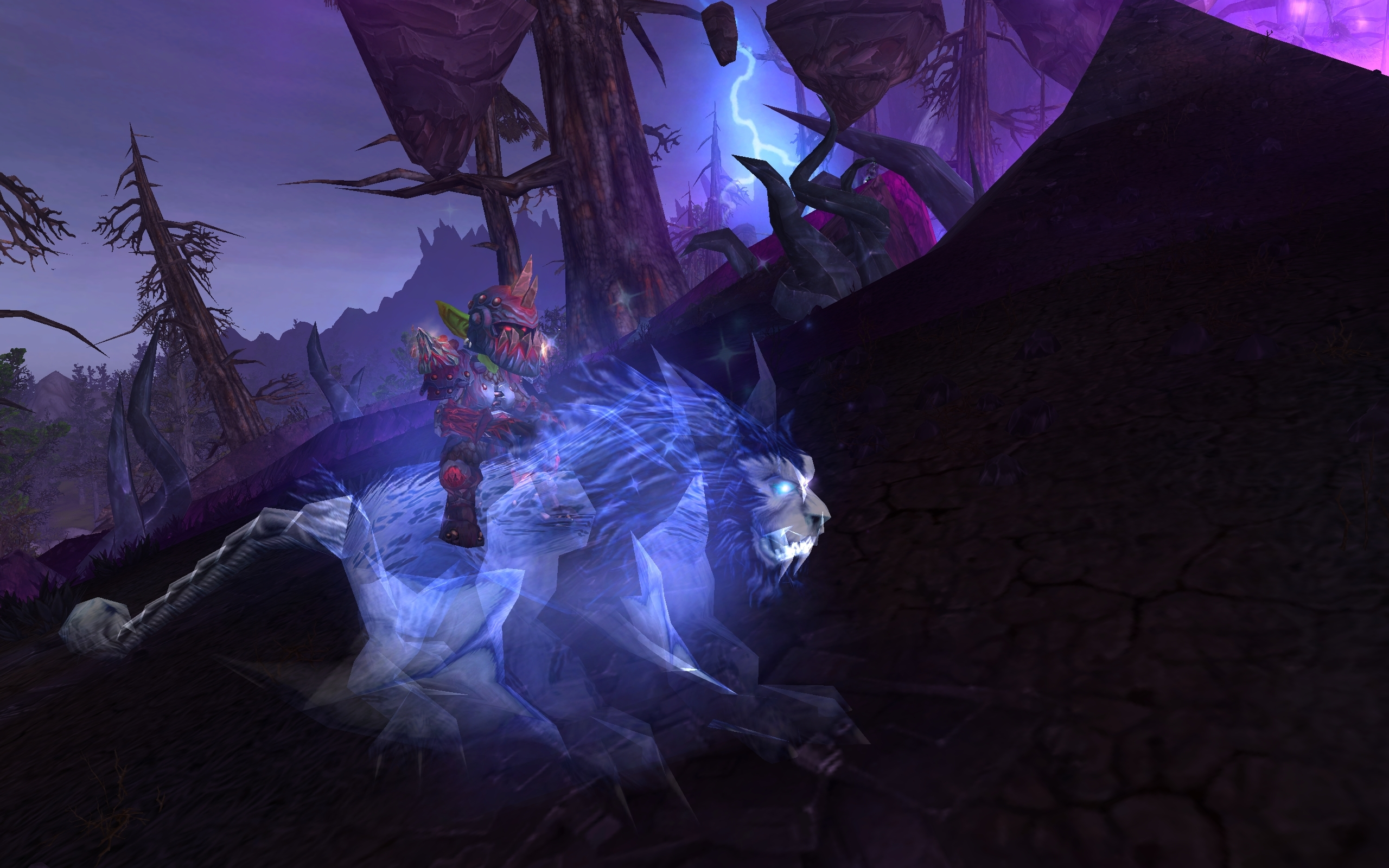 Patch 4.3 New spectral windrider and gryphon mounts.