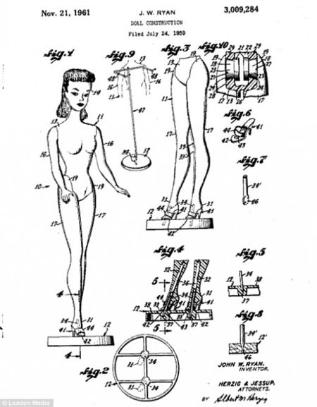 专利设计图揭秘全球最受欢迎玩具的诞生