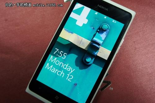 WP7里程碑之作 诺基亚Lumia 900首发评测