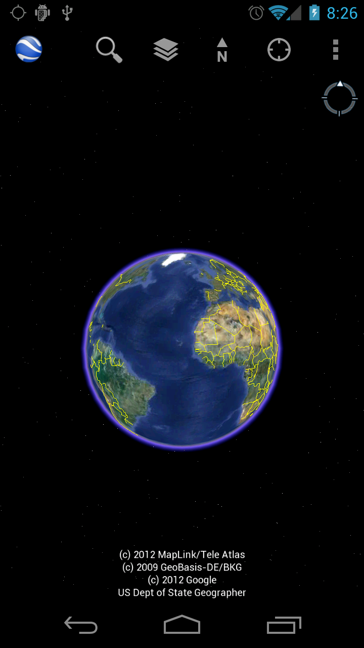 google地球android版升级新玩法