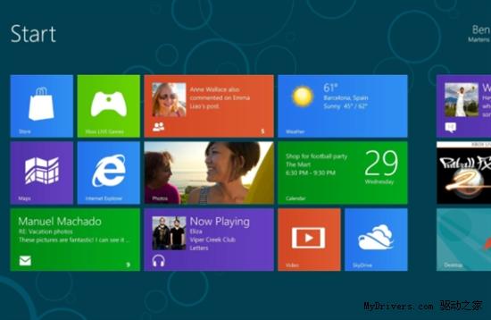消息称Windows 8正式版将在10月份发布