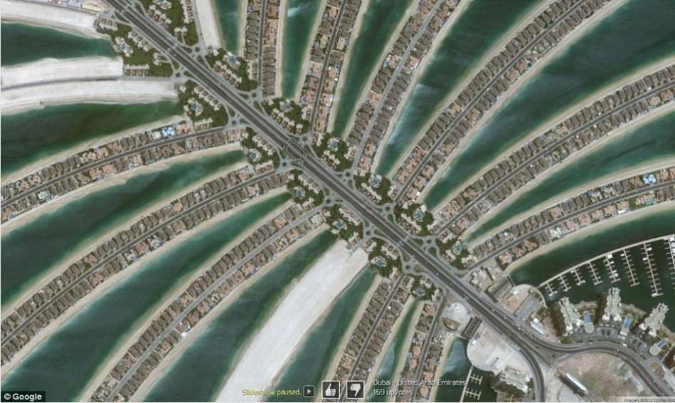 十大震撼谷歌地图卫星照
