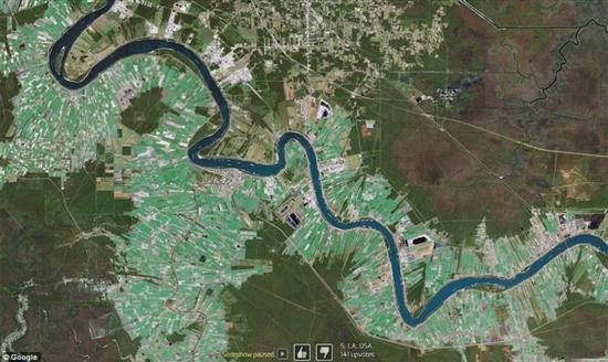十大震撼谷歌地图卫星照:俯瞰美国飞机墓地