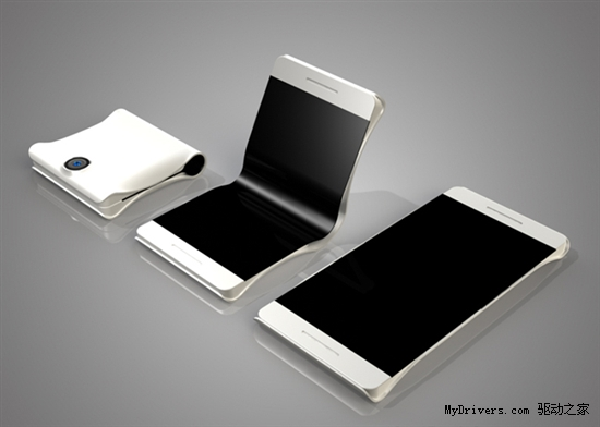 HTC概念手机:无边框高分屏+可对折机身