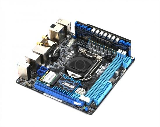 Z77 Mini-ITX小板 华硕P8Z77-I Deluxe图赏