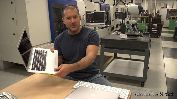 苹果电脑内部结构扫描图
