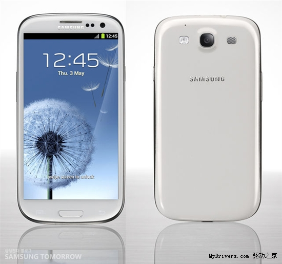 Android旗舰新标杆:Galaxy S III发布