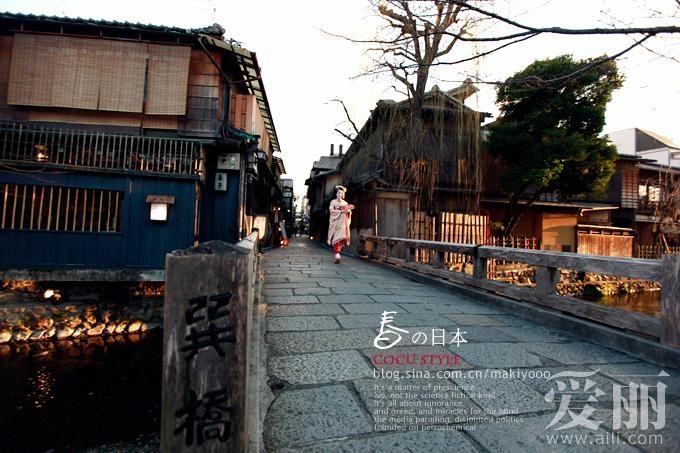 春天的东京 真实的日本艺妓