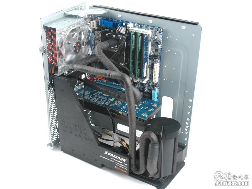 机箱pk冰箱 tt xpressar压缩机制冷机箱实测