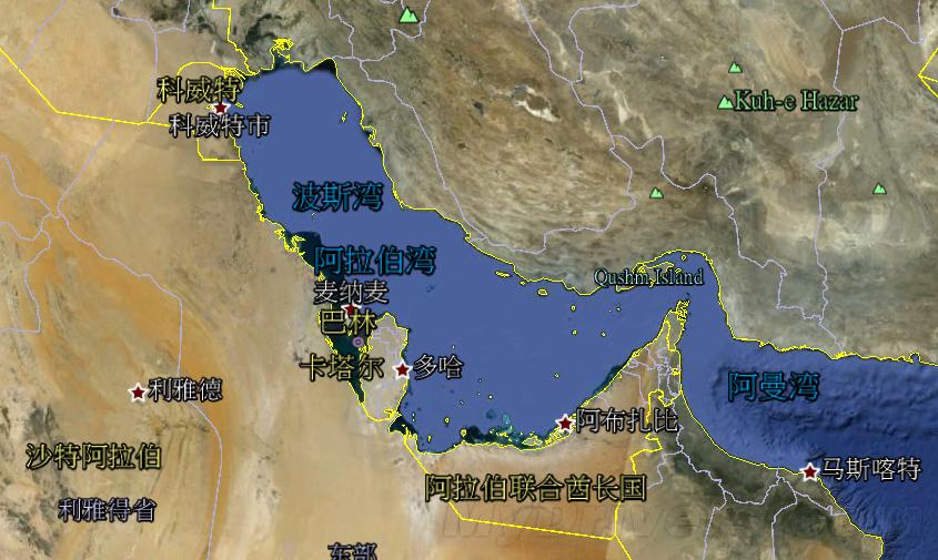 伊朗数千人抗议google地图
