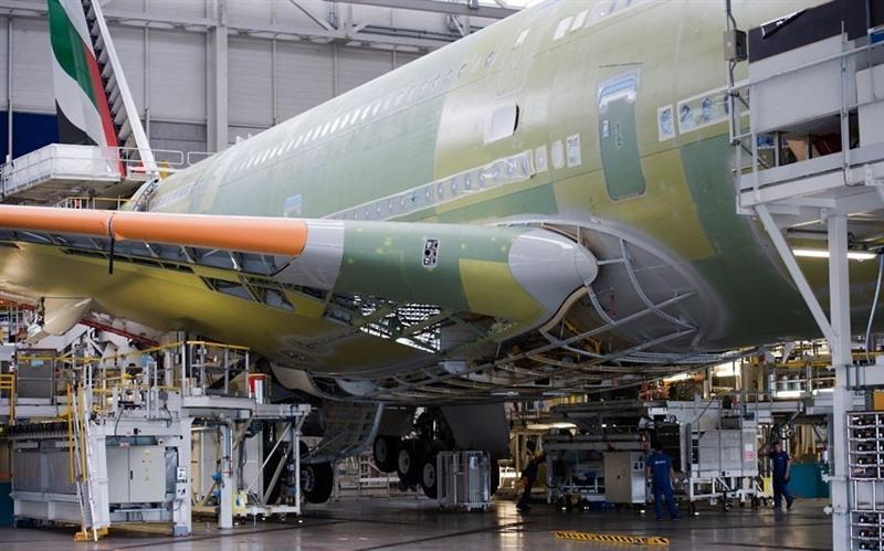 组图:世界最大客机是如何制成的