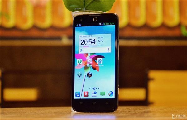 全球首款Tegra 4手机中兴U988S评测