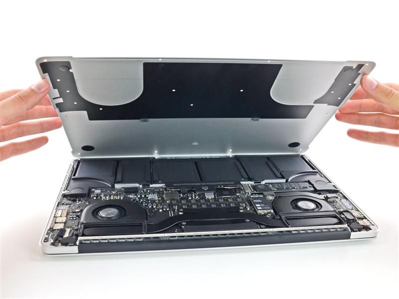 15寸视网膜新MacBook Pro拆解:噩梦重现