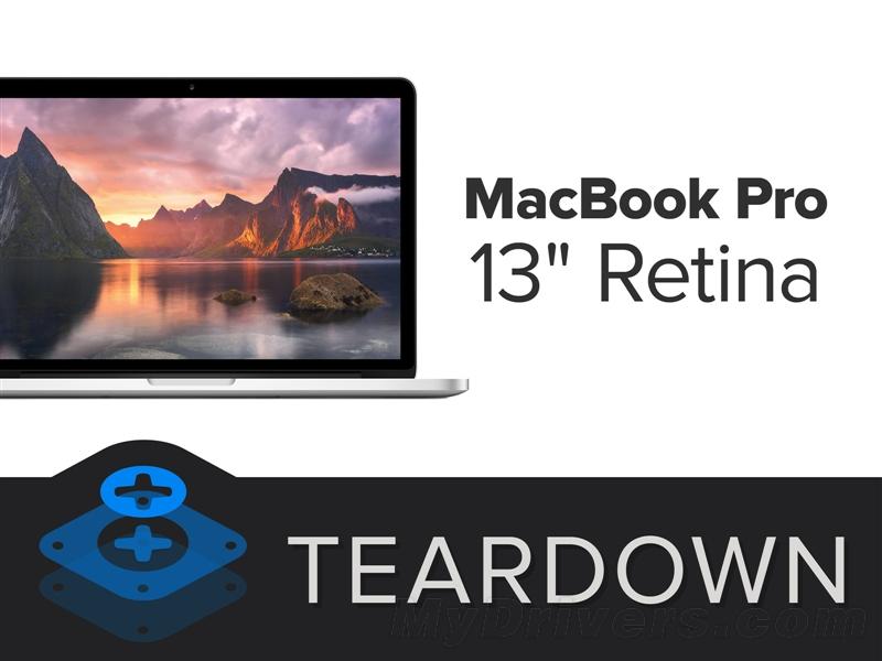 13寸视网膜MacBook Pro超详尽拆解