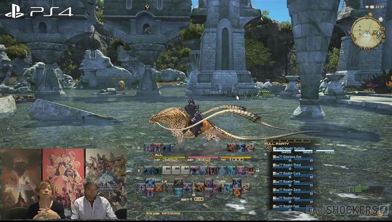 图赏:《最终幻想14》PC/PS3/PS4画质比拼
