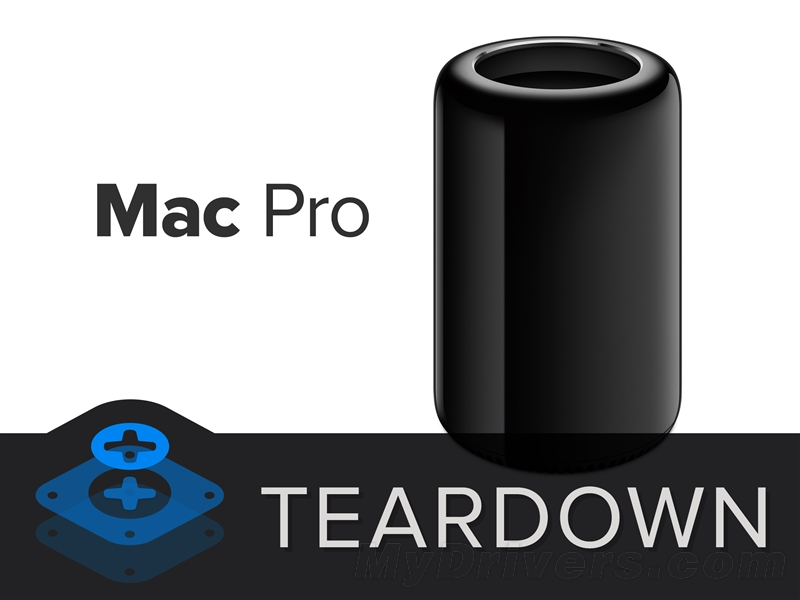 """精妙的""""垃圾筒"""":全新Mac Pro完全拆解"""